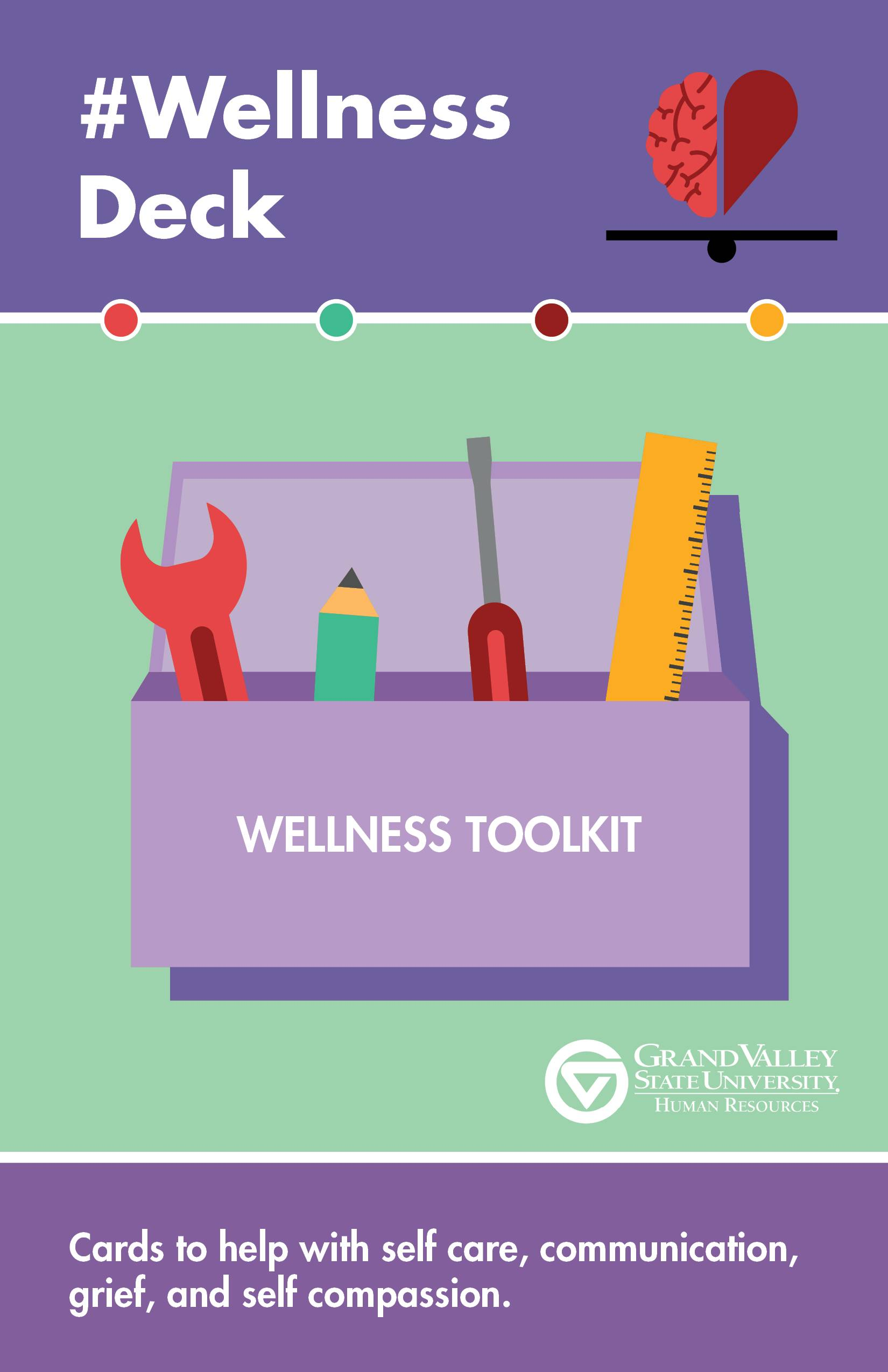 #Wellness toolkit deck
